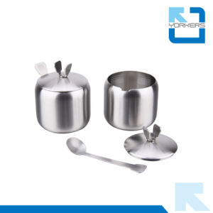 Wholesale Cheap Stainless Steel Salt, Sugar, and Pepper Jar pictures & photos