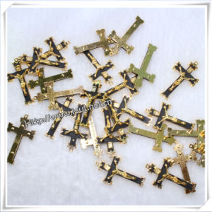 Metal Rosary Centerpiece Containing Holy Water (IO-ap224) pictures & photos