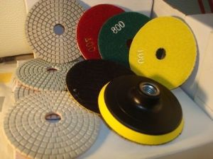 80mm Wet/Dry Concrete Polishing Pads pictures & photos