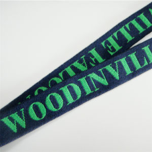 Strong Extra Thick Woven/Jacquard/Knitting Logo Custom Lanyard for ID Badge Holder pictures & photos