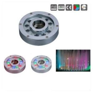 High Power IP68 9*3W LED Underwater Fountain Light pictures & photos