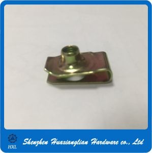 Stainless Steel Aluminum Anodized Spring Clip U Nuts pictures & photos