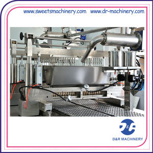 Colorful Jelly Candy Depositing Line Candy Cooker Forming Machine pictures & photos