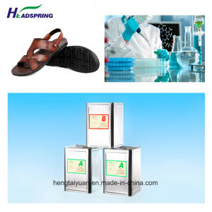 PU Material for Slipper and Sandal DIP Shoe Sole a-5005/B-5002 pictures & photos