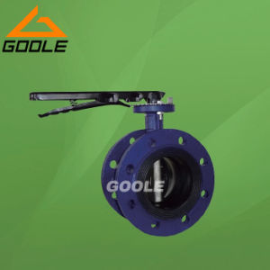 Manual Flanged Midline Soft Seal Butterfly Valve (GAD41X) pictures & photos