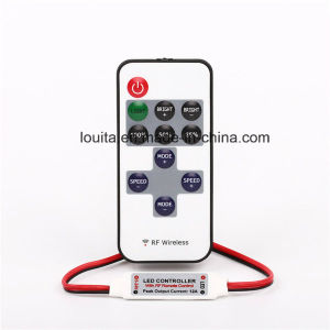 RF Wireless Controller Mini Dimmer for Single Color LED Lights pictures & photos