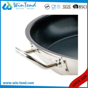 Non Stick Heat Conduction Combine Sandwich Bottom Stew Pan with Non-Stick Coating pictures & photos