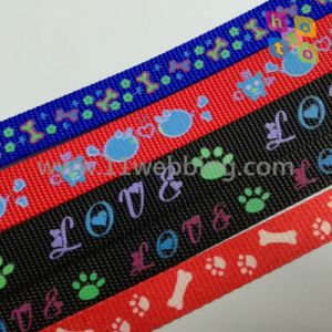 High Tenacity Polyester Pet Webbing for Dog Leash Pet Products pictures & photos