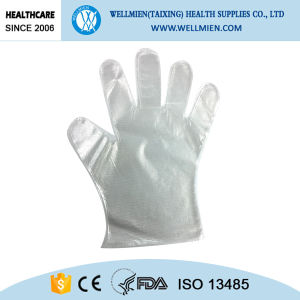 PE/CPE Material Plastic Gloves pictures & photos