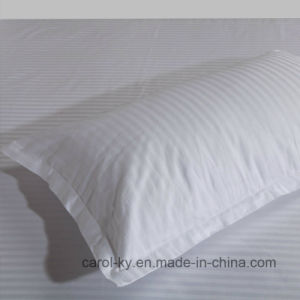100% Cotton 300tc 0.5cm Stripe Hotel Textile Hotel Bed Linen pictures & photos