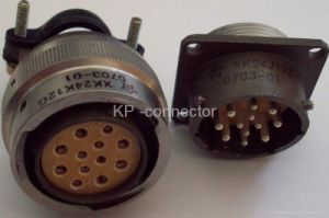 Xk24 Series Bayonet Coupling Circular Connectors pictures & photos
