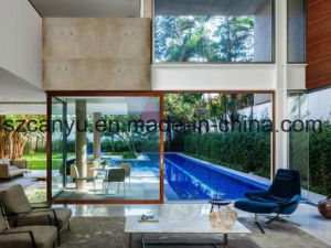 Soundproof Wood Package Aluminium Window pictures & photos