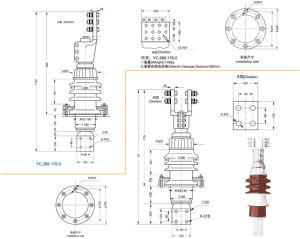 High Quality 20kv 6000A Transformer Bushing (BD-20/BDL-20) pictures & photos