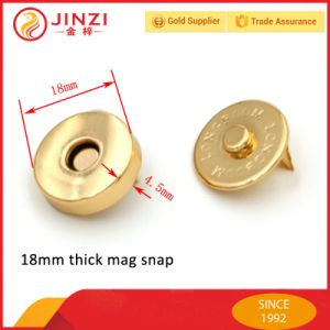 18mm Magnetic Snap Button Press Button for Bag Accessories pictures & photos