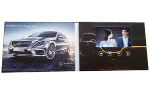 Car Advertising 7inch Video Brochure pictures & photos