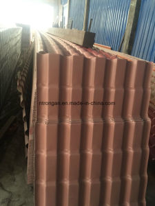 Roof Design for House / Corrugated Clear Plastic Sythetic Resin Roof Tile pictures & photos