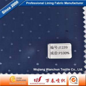High Quality Polyester Dobby Fabric for Garment Lining Jt239 pictures & photos