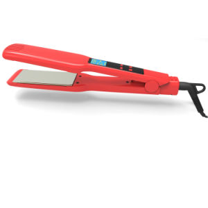 Smart Touch High Quality Titanium Ceramic Hair Straightening Flat Iron pictures & photos