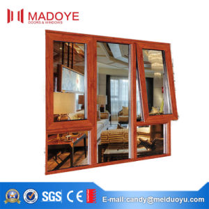 Aluminum Top Hung Window with Double Tempered Glass pictures & photos