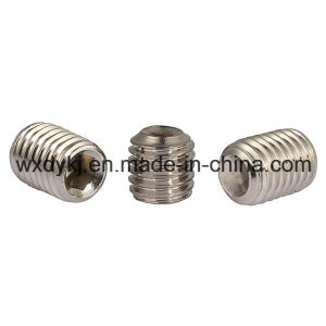 DIN 916 Stainless Steel Hexagon Machine Socket Set Screw with Cup Point pictures & photos
