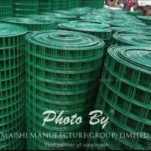 PVC Coated Welded Wire Mesh Security Fence pictures & photos