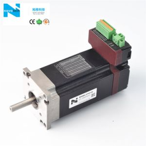 High Speed Brushless Servo Motor with Driver Built pictures & photos