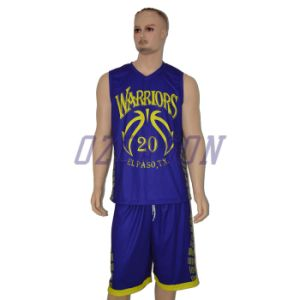 China Manufacturer Custom Reversible Sublimation Basketball Uniforms for Team (BK002) pictures & photos