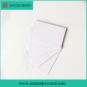High Quality Standard Credit Card Size Inkjet Plastic Card pictures & photos