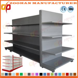 Gondola Shelving Supermarket Display Stand Shelf with End Shelf (Zhs185) pictures & photos