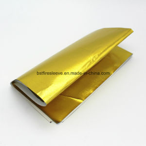 Gold Reflective Heat Barrier Heat Screen with Adhesive Backing pictures & photos
