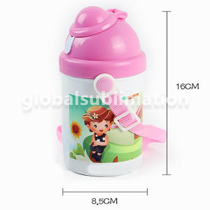 Sublimation Kid Drink Bottle Factory with Heat Press Printing pictures & photos