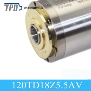 Tpd 120mm Diameter 5.5kw Water Cooling Atc Spindle for CNC Router pictures & photos
