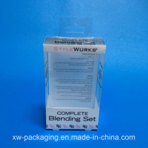 High Quality Folding Plastic Box for Electronic Blister Packaging pictures & photos