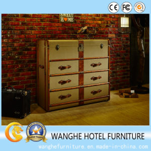 Hotel Furniture Creative Metal Design Side Storage Cabinets pictures & photos