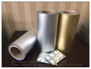 Cold-Stamping Molding Aluminum Blister Foil for Packaging Pills Alloy 8021 pictures & photos