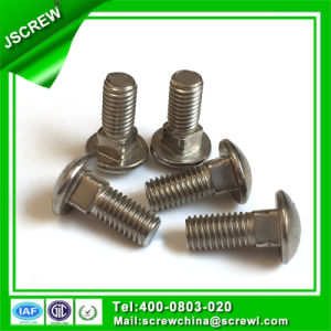 Hardware Mushroom Head 5mm Stainless Steel Carriage Bolt Screw pictures & photos