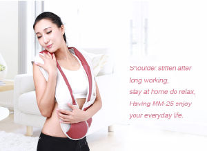 Electric Heating Tapping Shoulder Massage Shawl Neck Massager Belt pictures & photos