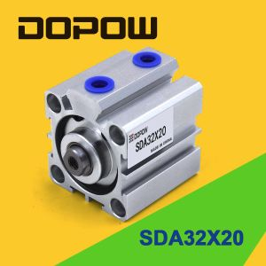 Dopow Sda32-20 Pneumatic Cylinder Compact Cylinder pictures & photos