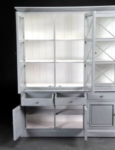 French Country Style Wooden Cabinet with Barred Door pictures & photos