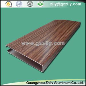 Wood Grain Clip in Aluminium Ceiling for Building Materails pictures & photos