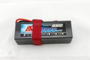 8000mAh 7.4V Hard Case Lithium Battery for RC Car pictures & photos