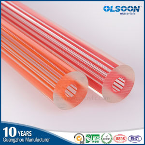 Guangzhou Manufacture Olsoon Extruded/Cast Plastic Acrylic Tube pictures & photos