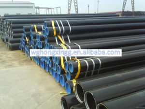 API 5L Steel Tube/API 5L Gr. B X52 X70 Black Seamless Steel Pipe pictures & photos