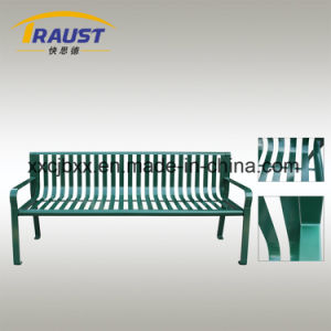 Cold Rolled Steel Material Community Garden Bench, Cast Iron Bench pictures & photos