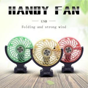 Strong Wind Rechargeable Handheld Portable Mini Electric Hand Fan pictures & photos