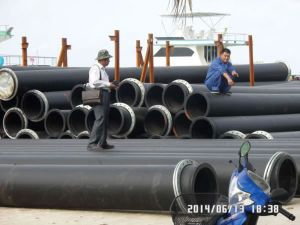 Suction Dredge Pipe with Floater pictures & photos