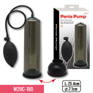 "10"" Pump with Soft and Stretchy PVC Sleeve and Big Bulb for Super Suction for Penis Enlargenment pictures & photos"