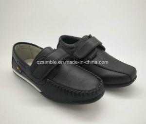Children Casual Loafers Shoes with PU Upper pictures & photos