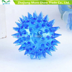 Flashing Hedgehog Ball Light up Spiky Novelty Sensory Bouncing Balls pictures & photos