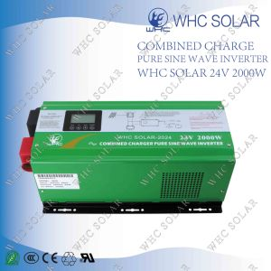 12V 24V 48V DC to 110V 220V AC Pure Sine Wave 2000W Power Inverter pictures & photos